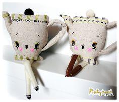 Pinky Toast Teapot Doll, So cute!