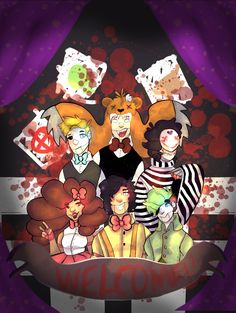 Do I pin it to fnaf or to youtubers board?                                             FNAF TUBERS SPEEDPAINT!!! by Rujenable