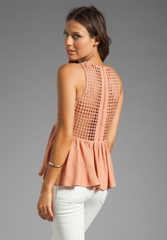 Finders Keepers Way To Go Top in Nude from REVOLVEclothing.com