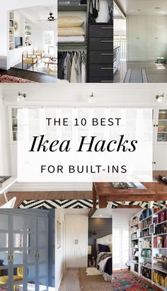 1 Ikea Hacks Built In Shelving