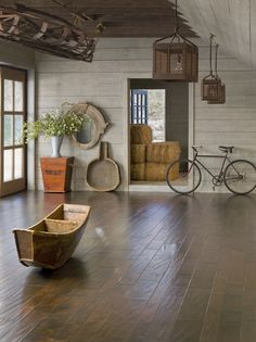 Palmetto Road Reserve Collection (Hickory) - Wheatlands, dual hand-stained hardwood