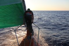 Brad Marsh / Leg 6 - Day 15 / Groupama in the Volvo Ocean Race / Credit : Yann Riou