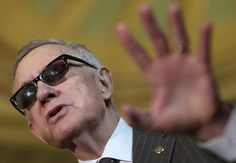 Senate Minority leader Harry Reid used political maneuvering techniques, including stalling a sex trafficking bill, to gain votes to confirm Loretta Lynch as attorney general for Barack Obama.