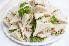 Sandwich Cake, Sandwiches, Brunch Party, High Tea, Feta, Tea Time, Food And Drink, Dairy, Cheese