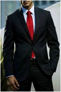 Traje Negro · Shirt and Tie Combinations with a Black Suit Vestuario Hombre 3638db500e3