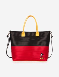 These Mickey and Minnie Seatbelt Bags Are Too Cute