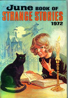 June Book Of Strange Stories 1972 Not At All Scary But Love The Covers