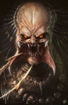Predator by wizyakuza on @DeviantArt