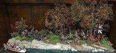 Diorama by Hudson & Allen featuring John Jenkins 1/30th scale figures