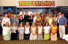 The gang at Todd's Big Hug.