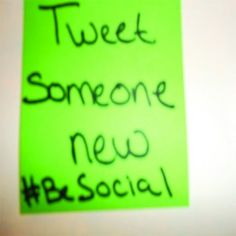 Expand Your Social Media Network - #BeSocial