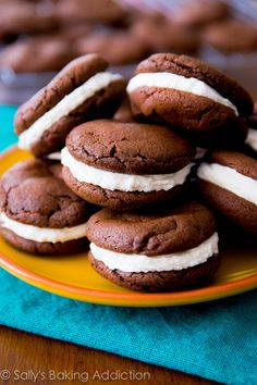An easy recipe for homemade oreos. Make your favorite store-bought cookie at home!