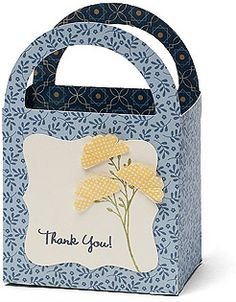 Pemberley Paper pack made into a gift bag using the Art Philosophy Cartridge