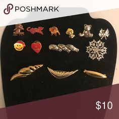 Brooches bundle 7 13 brooches / pins Jewelry Brooches