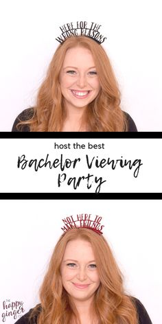 Bachelor Themed Party Ideas ABC's The Bachelor - inspirierte Parteibevorzugungen! I Party, Party Favors, The Bachelor Tv Show, A Little Party, Party Themes, Party Ideas, Reality Tv Shows, Crown Headband, Instagram Worthy