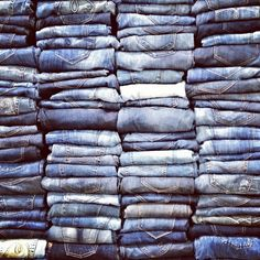 Denim overload. #kancan #fashion #denim #womensfashion