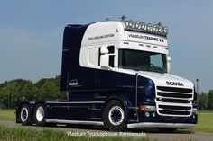 T560, now owned by UK haulier, Rowland's. Dedicated to the death of their Son