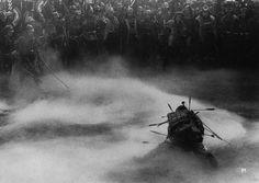 """""""THRONE OF BLOOD (1957) Director of Photography: Asakazu Nakai   Director: Akira Kurosawa"""