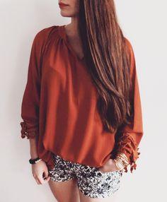 Tunique Bohème (orange)  ! Taille Universel  à seulement 35.00 €. Par ici : http://www.vinted.fr/mode-femmes/blouses-and-chemises/29562400-tunique-boheme-orange.