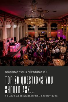 A wedding DJ can make or break your wedding reception so it's important to choose wisely. There is a big difference between someone that presses play on an iPod and a professional DJ. Palm Wedding, Wedding Guest List, Wedding Boudoir, Wedding Dj, Wedding Tips, Wedding Venues, Wedding Invitation Etiquette, Affordable Wedding Invitations, Will Ferrell Wedding Crashers