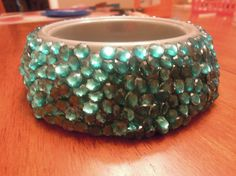 Custom Sequin Dog Bowl small by quinsequin on Etsy, $17.00