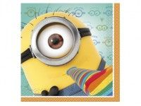 Keep Minions at your party clean with Despicable Me Beverage Napkins! Small Minion napkins feature 3 minions celebrating and throwing confetti. Despicable Me 2 Minions, My Minion, Minion Stuff, Minion Theme, Minion Movie, Funny Minion, Minion Birthday, Boy Birthday, Birthday Ideas