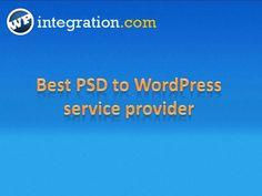 PSD To Wordpress Conversion- WPintegration