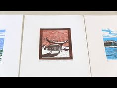 Shortcuts - an introduction to linocut printmaking with James Green - YouTube