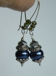 Silver Faceted Crystal Handmade Beaded by bdzzledbeadedjewelry, $14.00
