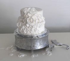 Rose cake that i made for a wedding
