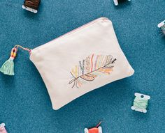 Embroidery DIY Fashion Pouch