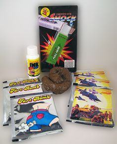 "STARTER ""MINI' PRANK KIT 2...... Another mini prank kit added to our Starter Series. Filled with five of our best selling gag items at one fantastic price. www.theonestopfunshop.com"