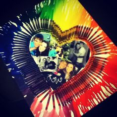 My melting crayon project! (: {but with pictures of my nieces and nephews}