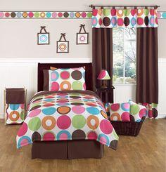 Sweet Jojo Designs Deco Dot Childrens Bedding Set