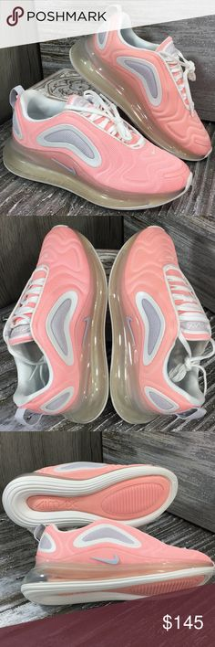 Nike Air Max 270 Ps Platinum Tint White Black Bleached Coral from Office on 21 Buttons