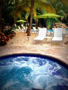 Hot tub anyone? (The Inn at Key West)