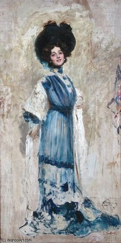untitled by Giovanni Boldini (1842-1931, Italy)