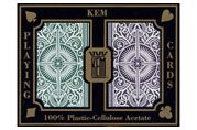 Kem Arrow Green/Brown Playing Cards Bridge Size Standard Index. #Kem #Playingcards #Poker