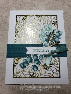 Card Making Inspiration, Making Ideas, Leaf Cards, Folded Cards, 3d Cards, Stamping Up Cards, Fall Cards, Creative Cards, Anniversary Cards