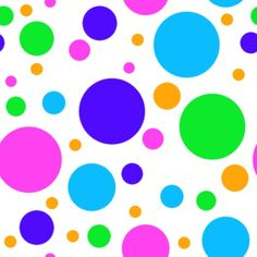 Click to get the codes for this image. Colored Dots On White Background Seamless, Circles, Polka Dots Background Wallpaper Image or texture free for any profile, webpage, phone, or desktop