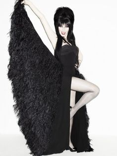 Elvira is 60 and still absolutely beautiful as ever.