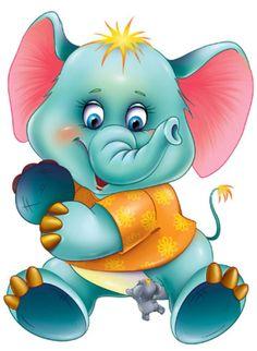 "Photo from album ""Мультяшки"" on Yandex. Cartoon Pics, Cute Cartoon, Cartoon Art, Dumbo Cartoon, Cartoon Elephant, Cute Elephant, Cute Images, Cute Pictures, Funny Pics"