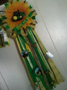 John Deere baby shower mum