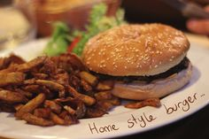 Home style burger