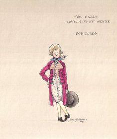 The Rivals (Bob Acres).  Lincoln Center Theatre. Costume design by Jess Goldstein.