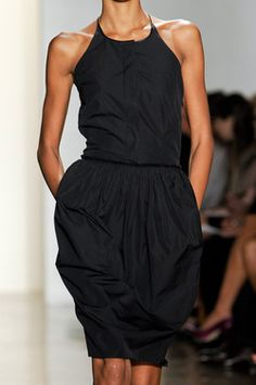 Perfect wear-everywhere black dress