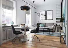 Take a look through a gallery of 5 stylish contemporary studio apartments gathered together for your personal perusal. If you're looking for ideas or inspiratio