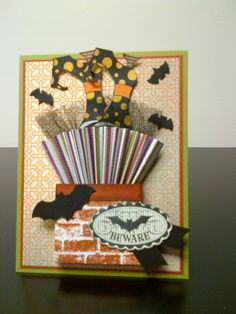 Halloween card using Stampin' Up! Bootiful Occasions stamp set and sentiment from Halloween Bash.