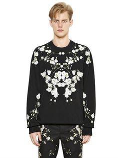 Floral Print Columbian Cotton Sweatshirt