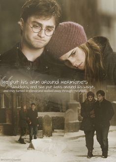 Harry + Hermione
